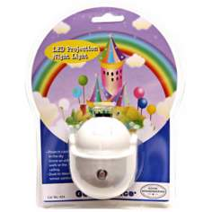 Rainbow Castle LED Projection Night Light