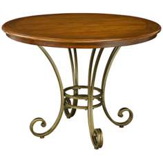 St. Ives Cinnamon Cherry Wood Dining Table
