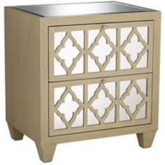 Lola Collection Mirror Accent Chest