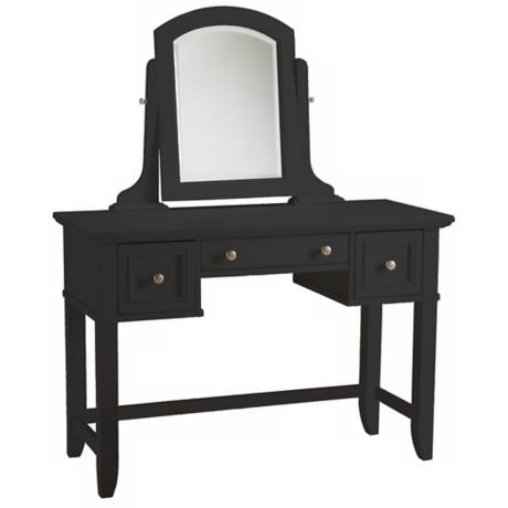 Bedford Ebony Wood Vanity Table