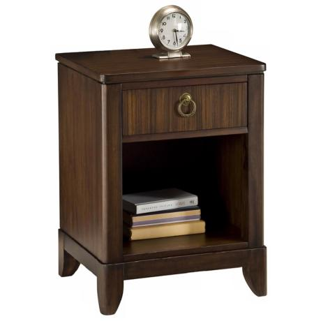 Paris Collection Mahogany Night Stand