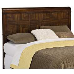 Paris Collection Mahogany Queen Headboard