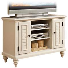 Bermuda Brushed White TV Stand