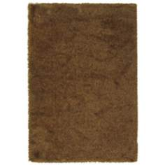 Soho Collection Rust/Gold Shag Area Rug