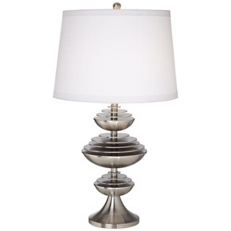 Possini Euro Floating Disc Table Lamp