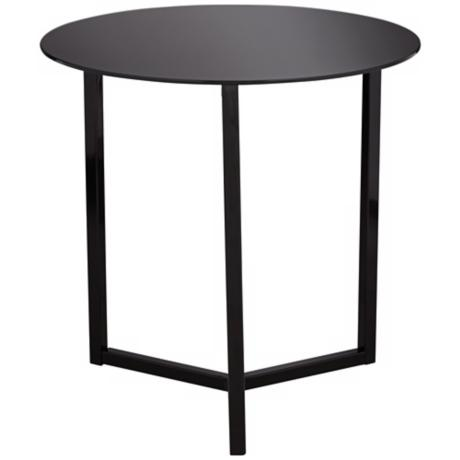 Brunetta Black Accent Table