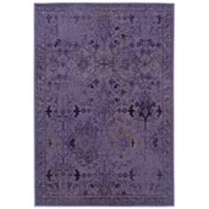 Oriental Weavers Revival 8023M Plum Area Rug