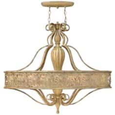 "Fredrick Ramond Carabel 6-Light 38 1/2"" Champagne Chandelier"