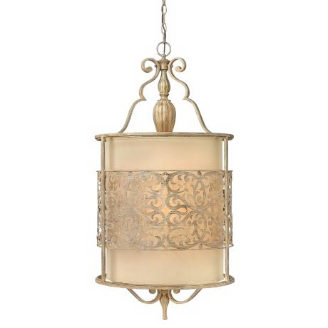 "Fredrick Ramond Carabel 4-Light 18"" Wide Champagne Pendant"