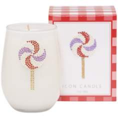 Pinwheel Lollipop Icon Candle
