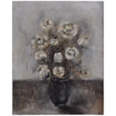 "Midnight Bouquet I 30"" High Gallery Wrap Floral Wall Art"