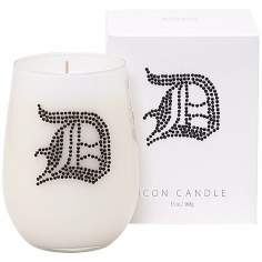 "Letter ""D"" Fragrant Monogram Stemless Wine Glass Candle"