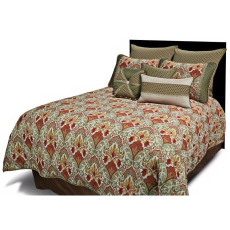 Monica Floral Comforter Bedding Set
