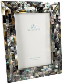 Black Mother of Pearl 5x7 Photo Frame (W4930)