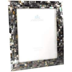 Black Mother of Pearl 8x10 Photo Frame