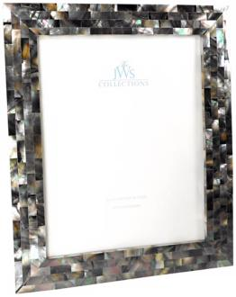 Black Mother of Pearl 8x10 Photo Frame (W4955)