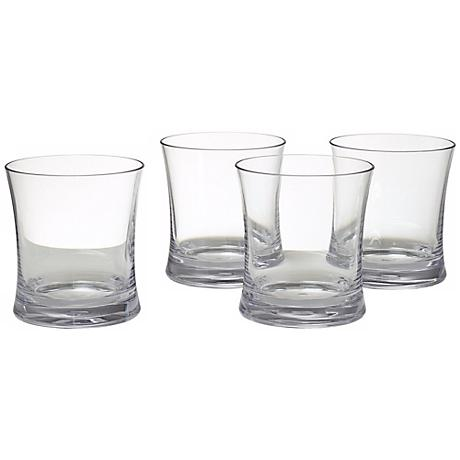 Set of 4 Clear 14 oz. Tumblers