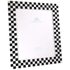 Checkered 11x14 Mother of Pearl Photo Frame