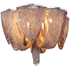 "Maxim Chantilly 18"" Wide Flush Mount Ceiling Light"