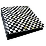 Checkered Mother of Pearl 5x7 Photo Album