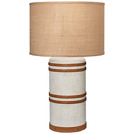 Jamie Young Large Barrel Table Lamp