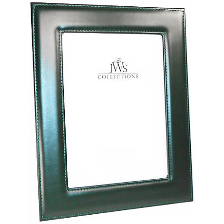 Green 5x7 Cowhide Leather Photo Frame