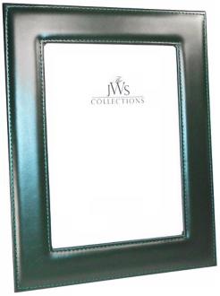Green 5x7 Cowhide Leather Photo Frame (W5028)