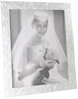White Mother of Pearl 11x14 Photo Frame (W5094)