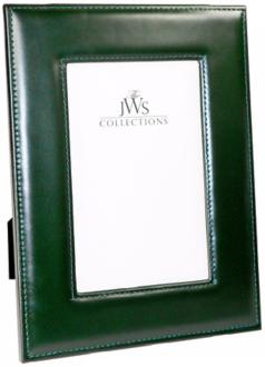 Green 4x6 Cowhide Leather Photo Frame (W5125)