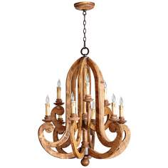 "Quorum Ashford 9-Light 29"" Wide Provincial Chandelier"