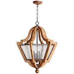 "Quorum Ashford 6-Light 27 1/4"" Wide Provincial Pendant Light"