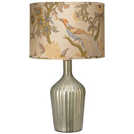 Jamie Young Thalia Pearl Enamel Glass Table Lamp