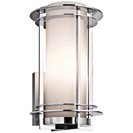 "Kichler Pacific Edge 16"" Marine Grade Steel Outdoor Sconce"