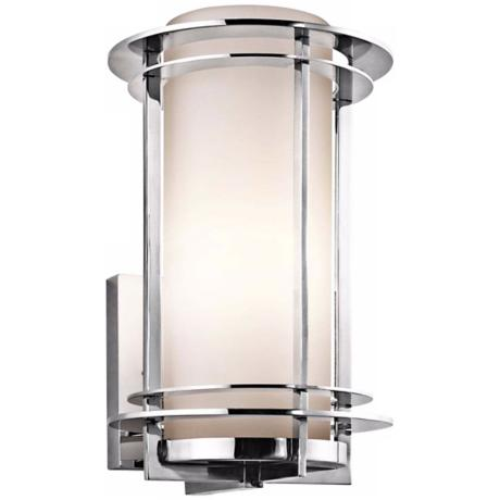 "Kichler Pacific Edge 13"" Marine Grade Steel Outdoor Sconce"