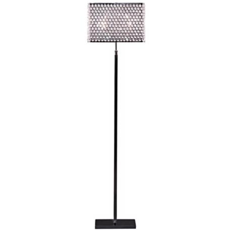 Artcraft Concentrix Egyptian Crystal Floor Lamp - #W5713 | LampsPlus.