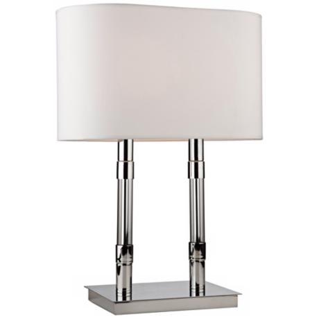 Artcraft Carlton Chrome Table Lamp