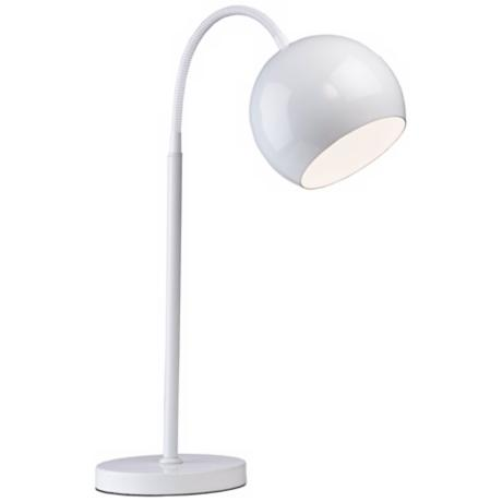 Artcraft On the Spot White Desk Lamp