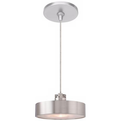 LBL Hover Satin Nickel Pendant Light