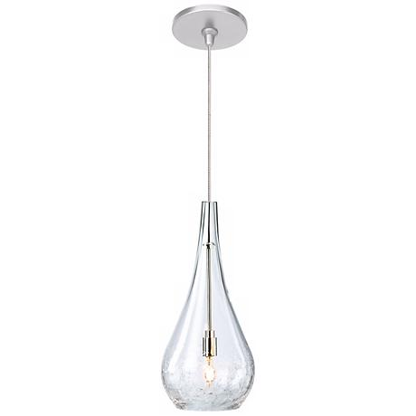 LBL Seguro Clear Nickel Pendant Light