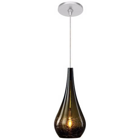 LBL Seguro Olive Nickel Pendant Light