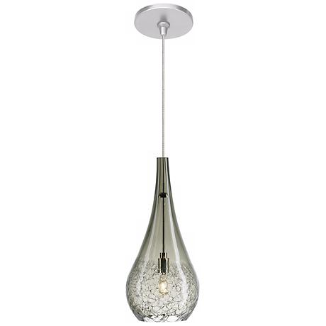 LBL Seguro Smoke Nickel Pendant Light
