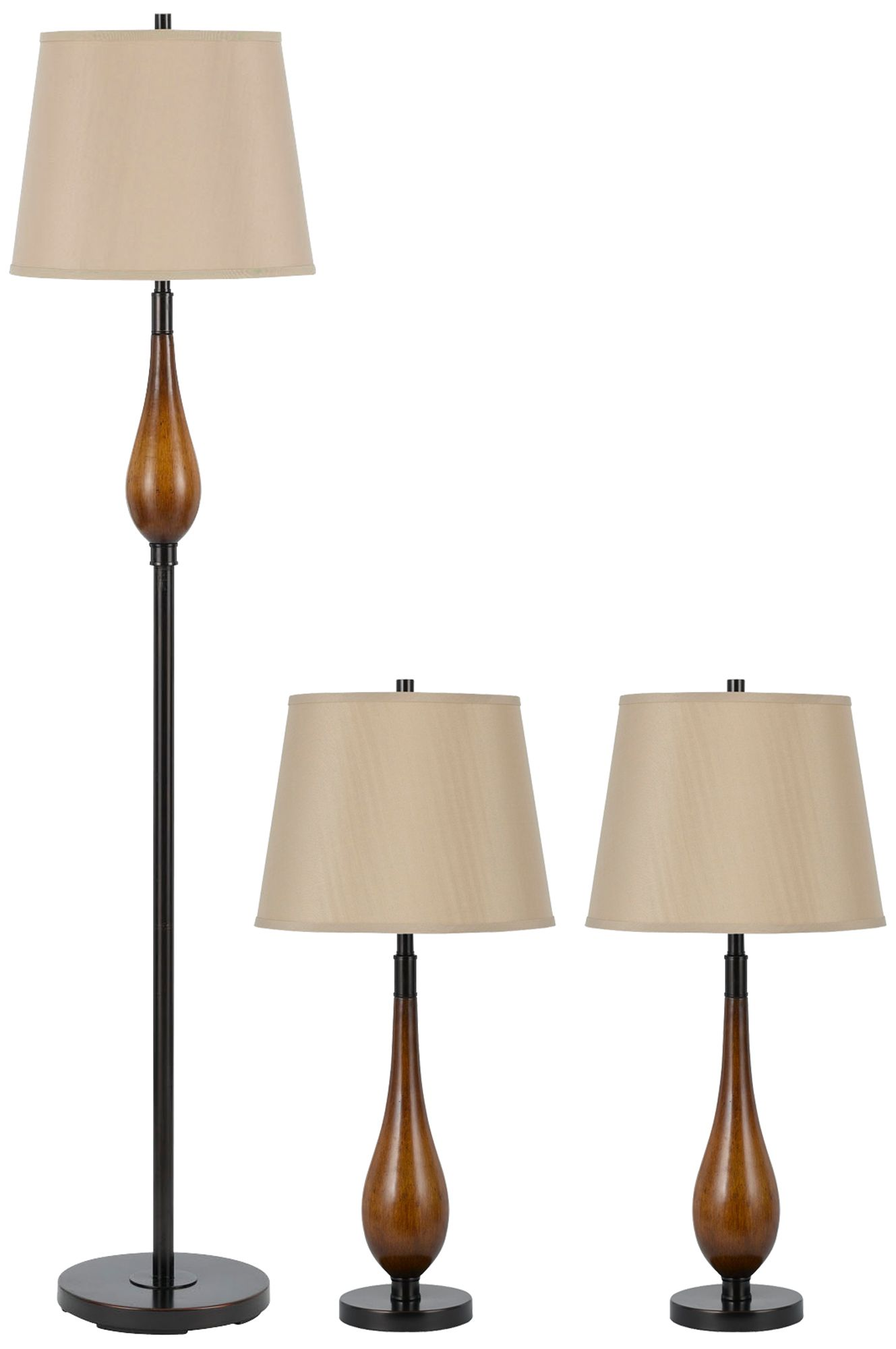 Foscarini Tropico Ellipse Suspension Light Store Cheap Set of 3 Wood Floor and Table Lamps