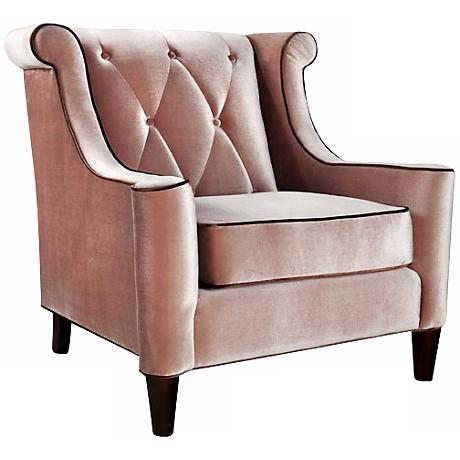 Barrister Caramel Velvet Club Chair