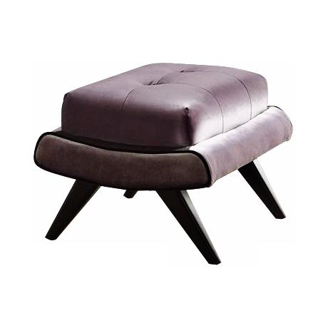 5th Avenue Collection Birchwood Gray Ottoman