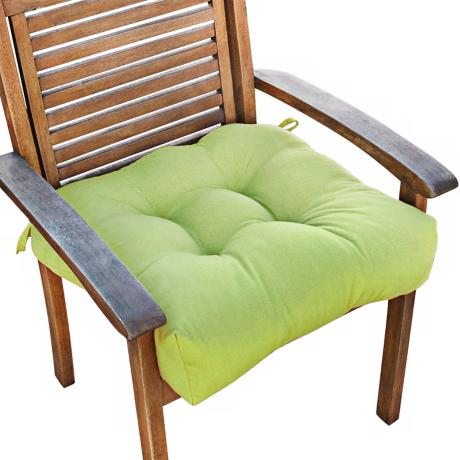 "Kiwi 20"" Square Green Outdoor Chair Cushion"