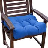 "Marine Blue 20"" Square Outdoor Chair Cushion"