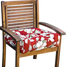 "Roma Floral 20"" Square Outdoor Chair Cushion"