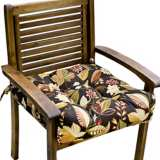 "Timberland Floral 20"" Square Outdoor Chair Cushion"