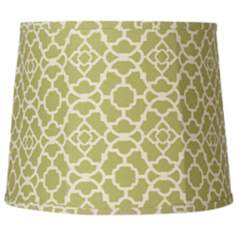 Lime Green Trellis Softback Shade 12x14x11 (Spider)