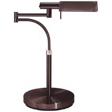 Sonneman E-Tenda Rose Bronze Swing Arm Pharmacy Desk Lamp